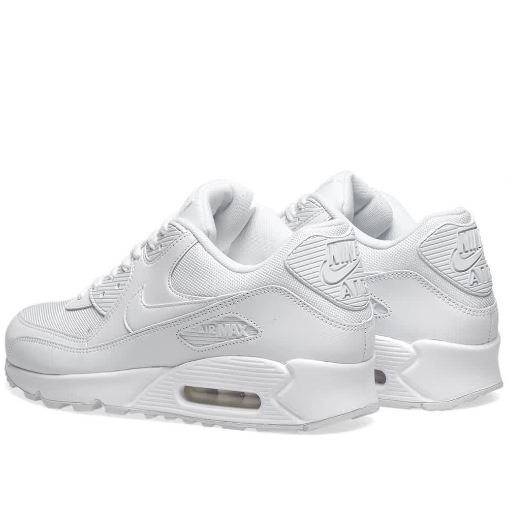 Nike Air Max 90 Essential White | END.
