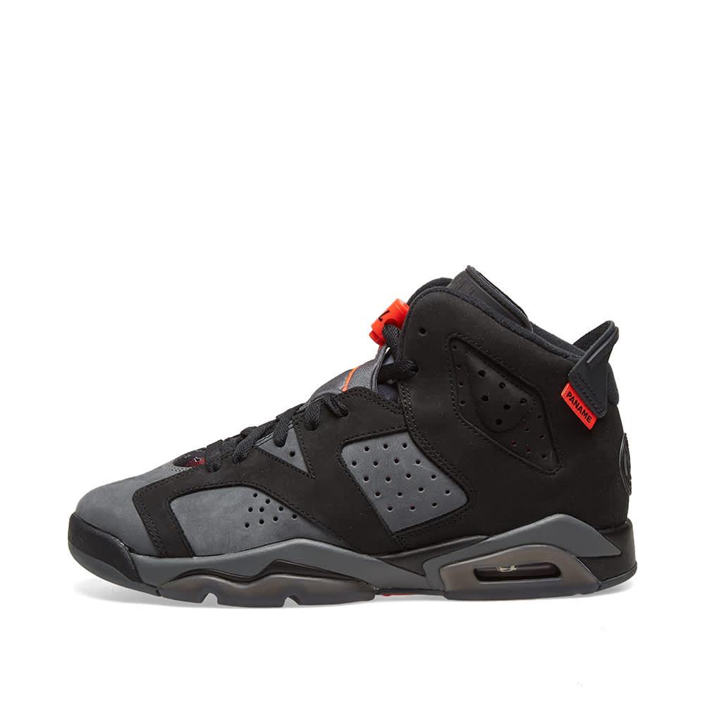 Jordan 6 Retro Black Infrared 2019 (GS) - 384665-060