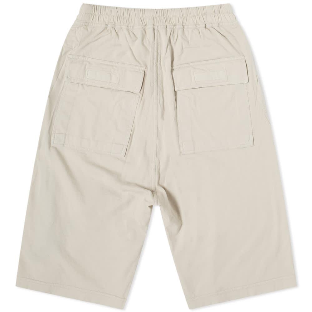 Rick Owens DRKSHDW Lightweight Ricks Bela Shorts - Oyster