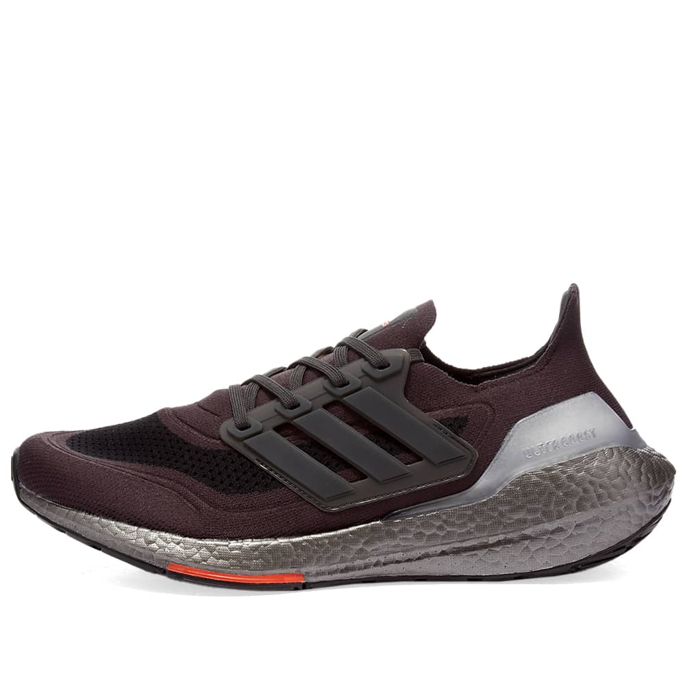 Adidas Ultraboost 21 - Carbon & Solar Red