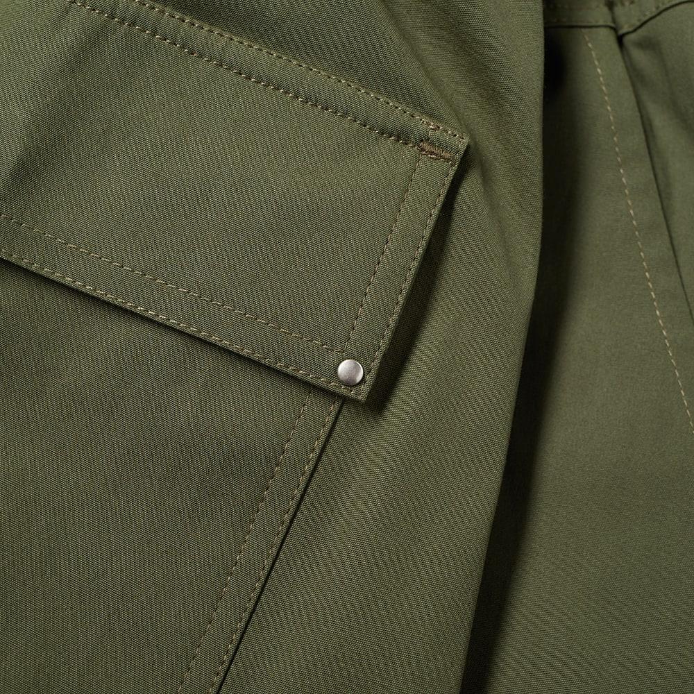 Rick Owens Drawstring Long Pant - Green
