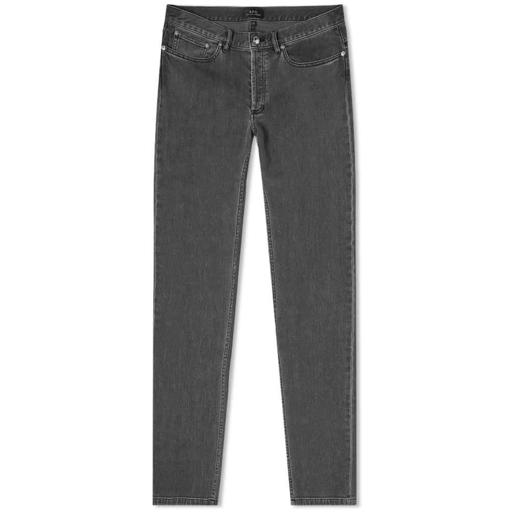 A.P.C. Petit New Standard Jean - Washed Black Stretch