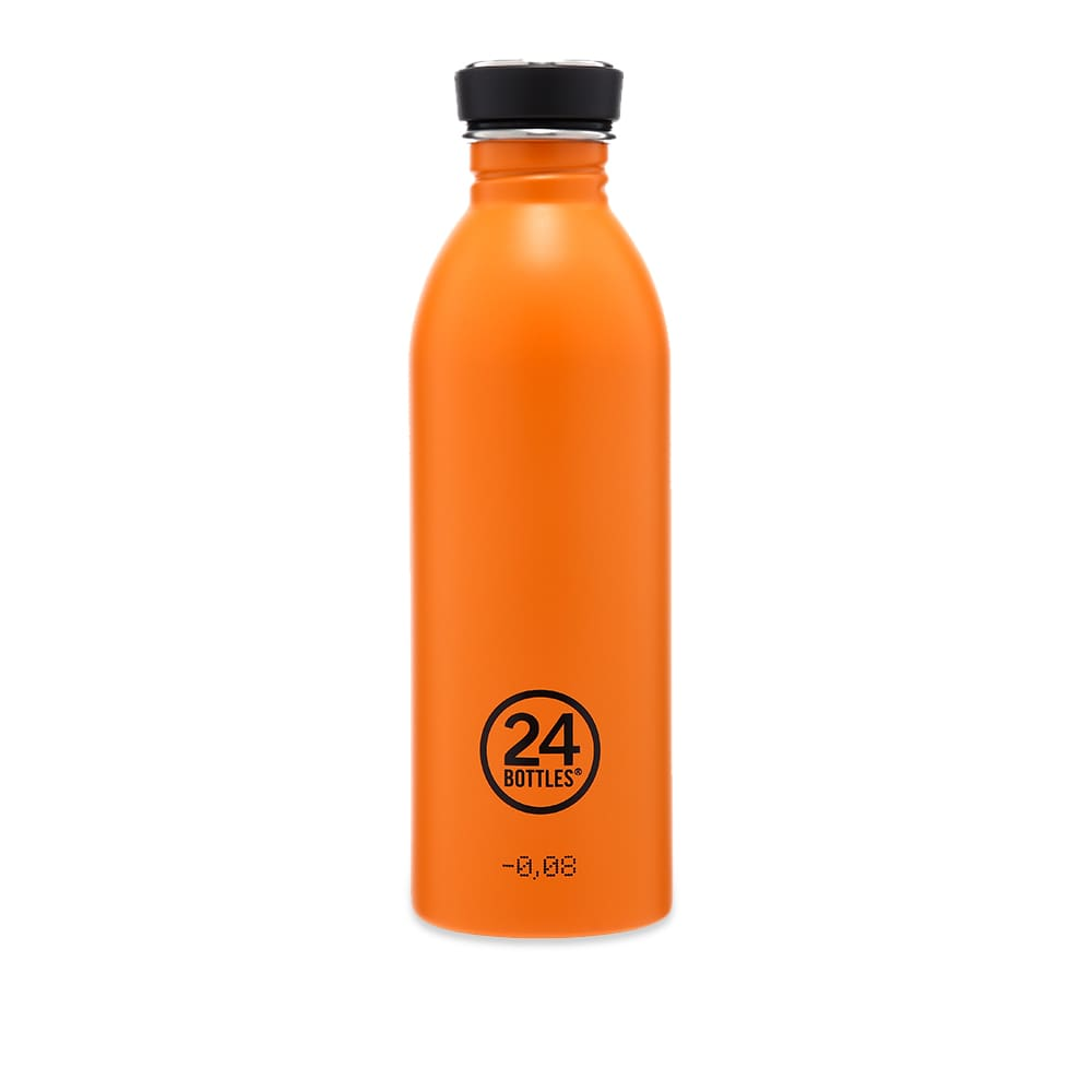 24 Bottles Urban Bottle - Total Orange Satin 500ml