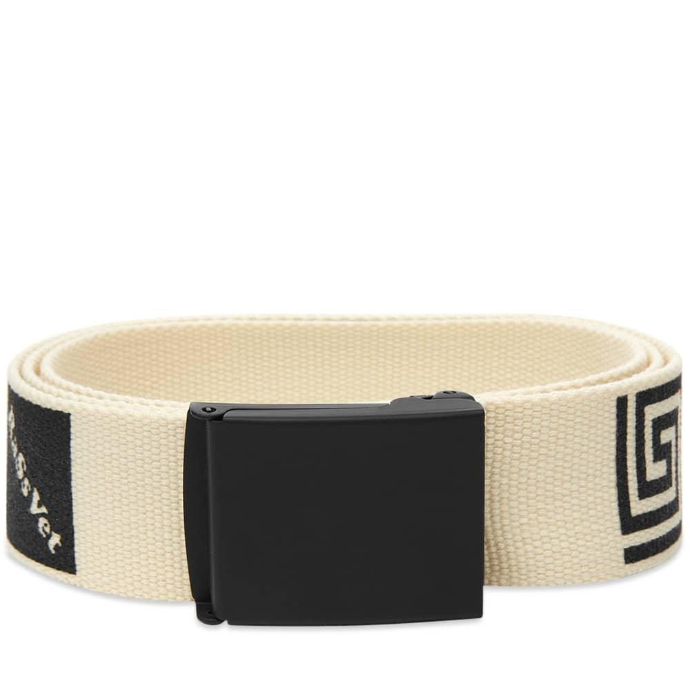 PACCBET Square Logo Belt - Off White