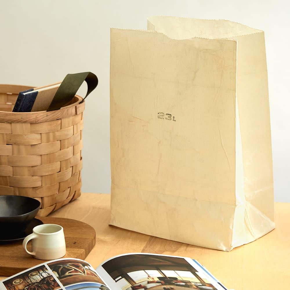 Puebco Cotton Grocery Bag - 23L - White