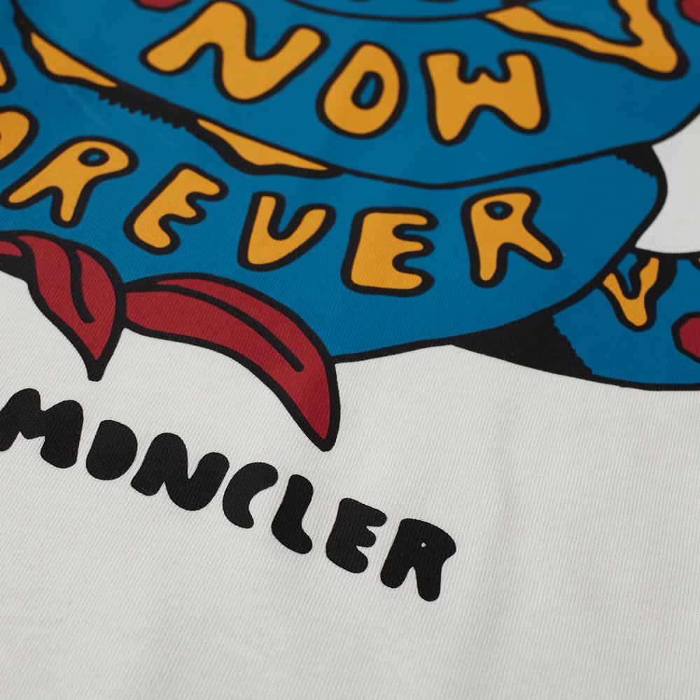 Moncler Drawing Print Tee - White