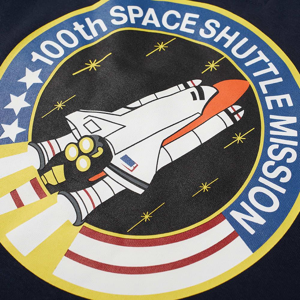 Alpha Industries NASA Patch Crew Sweat - Replica Blue