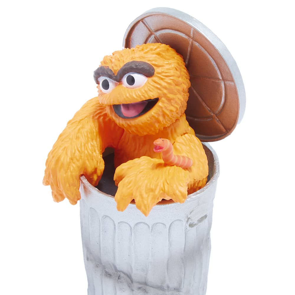 Medicom UDF Sesame Street Series 2 Oscar The Grouch - Orange