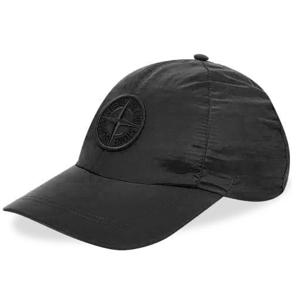 Stone Island Nylon Metal Cap - Black