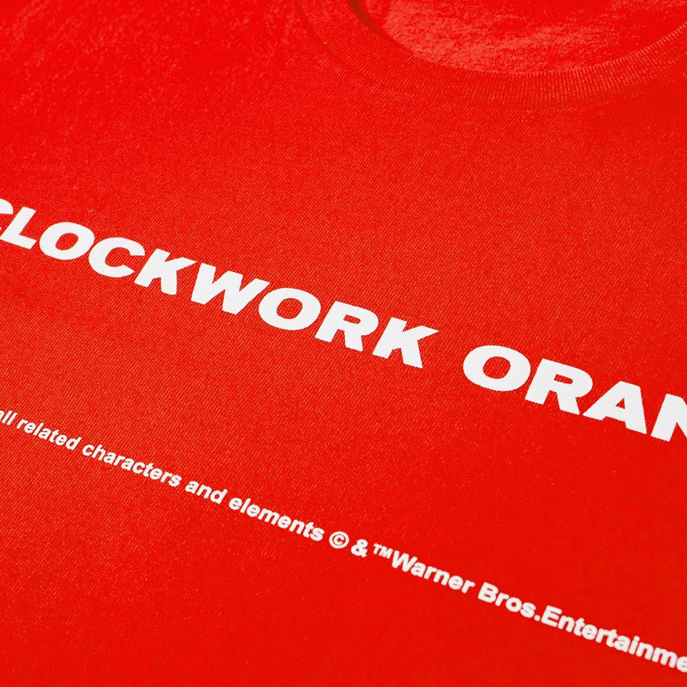 Undercover x A Clockwork Orange Back Print Tee - Red