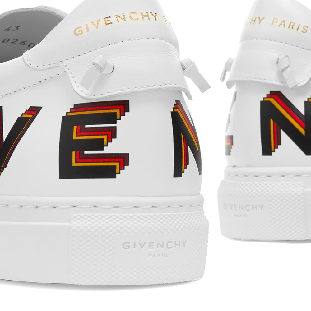 Givenchy Urban Street Low Logo Print Sneaker - White