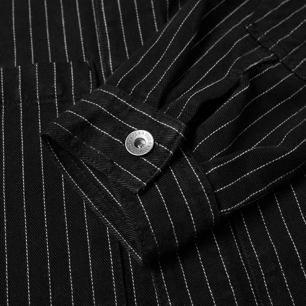 YMC Pinstripe Pinkley Jacket - Black