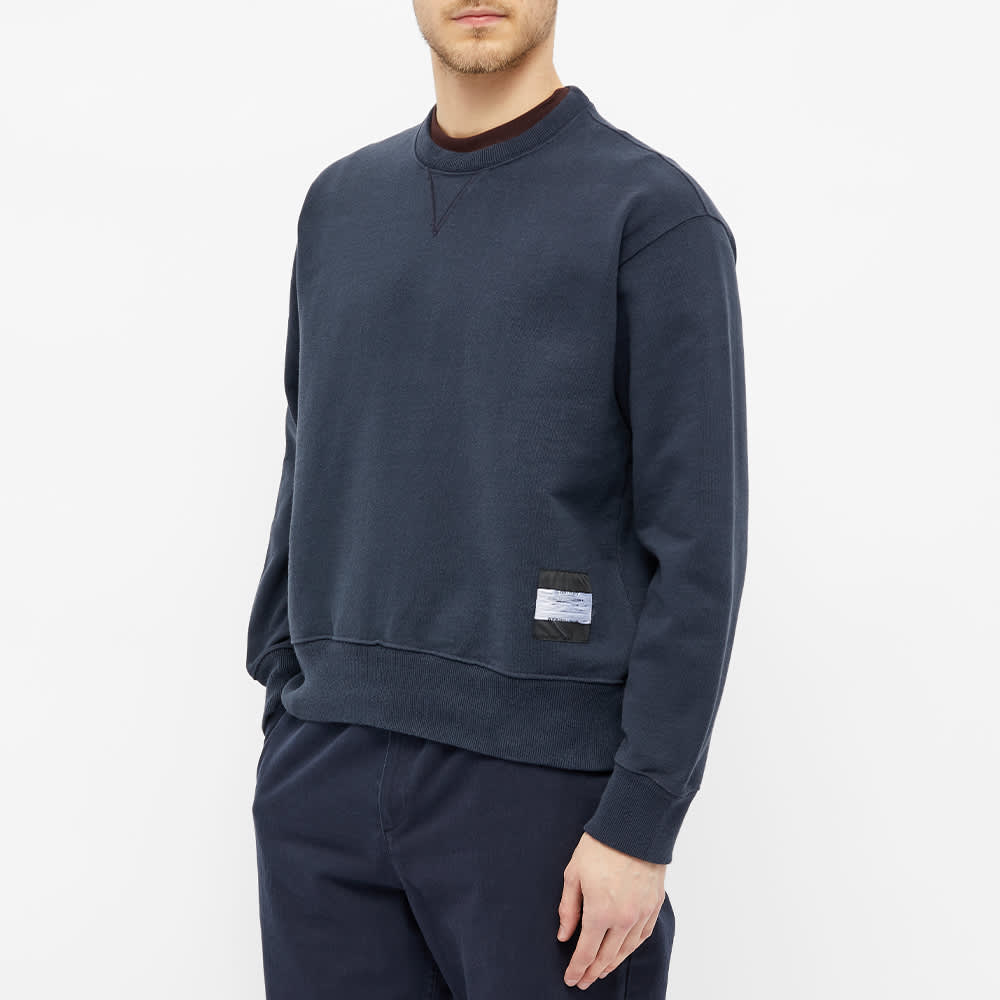 Our Legacy Base Crew Sweat - Navy