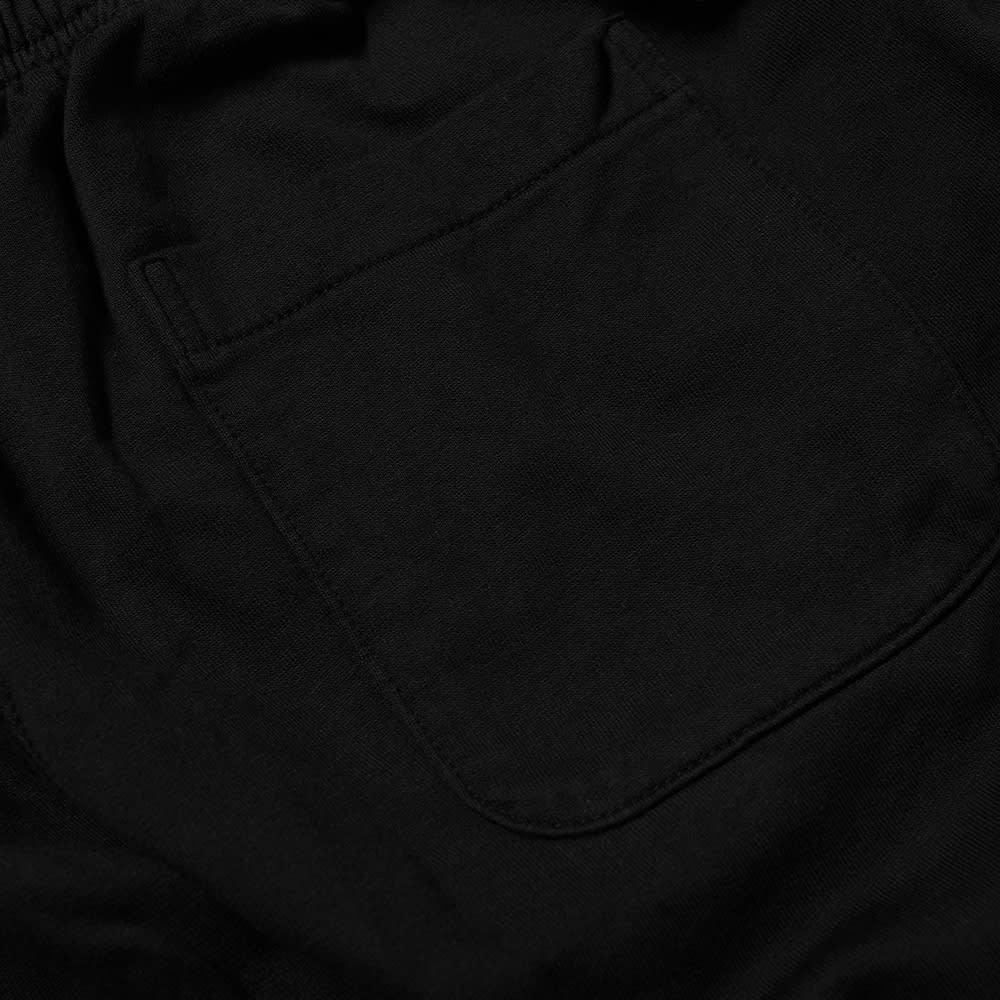 Save Khaki Supima Fleece Easy Short - Black