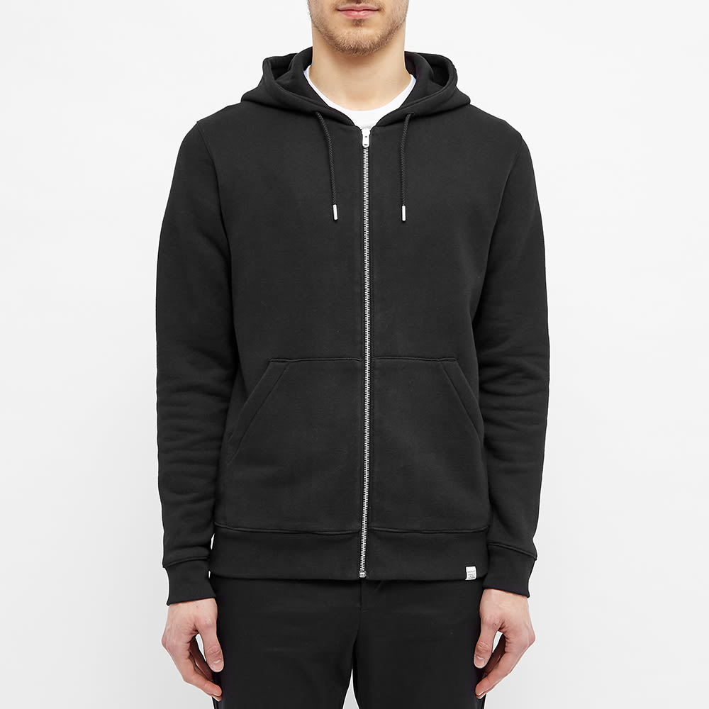 Norse Projects Vagn Zip Hoody - Black