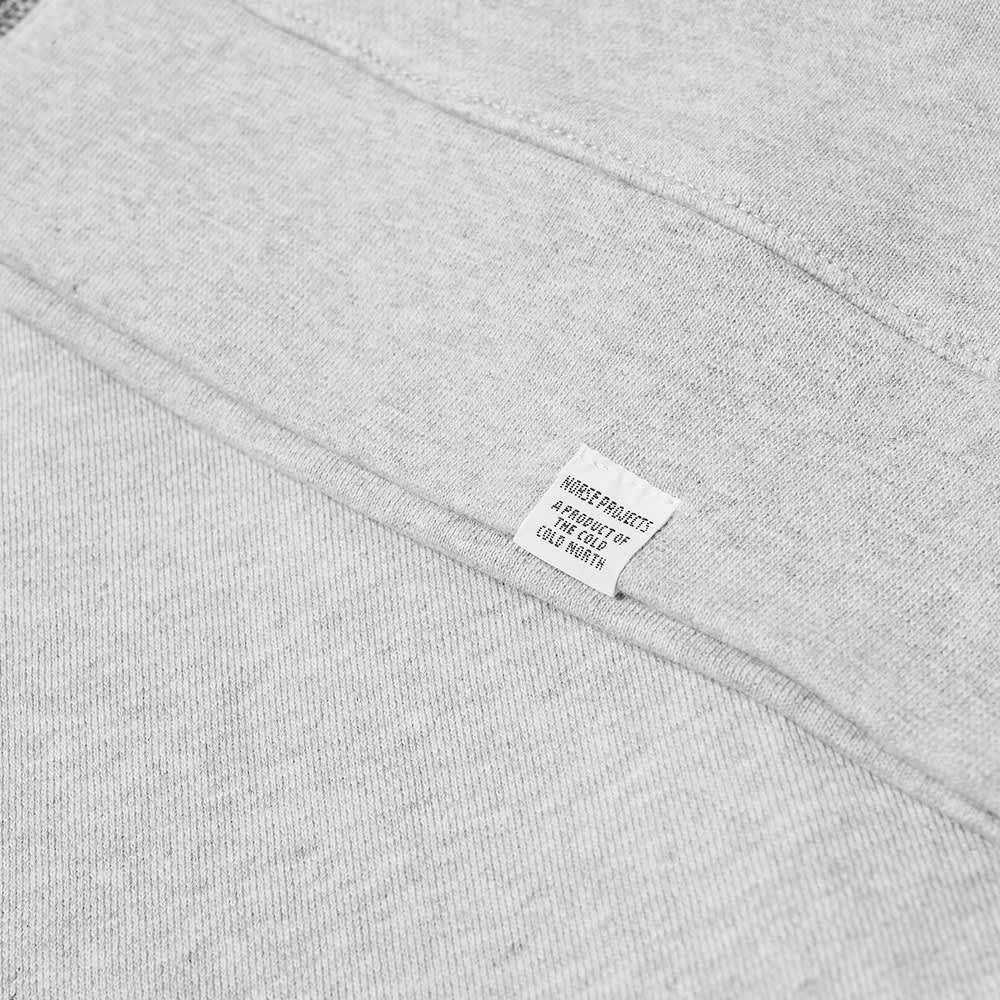 Norse Projects Vagn Zip Hoody - Light Grey Melange