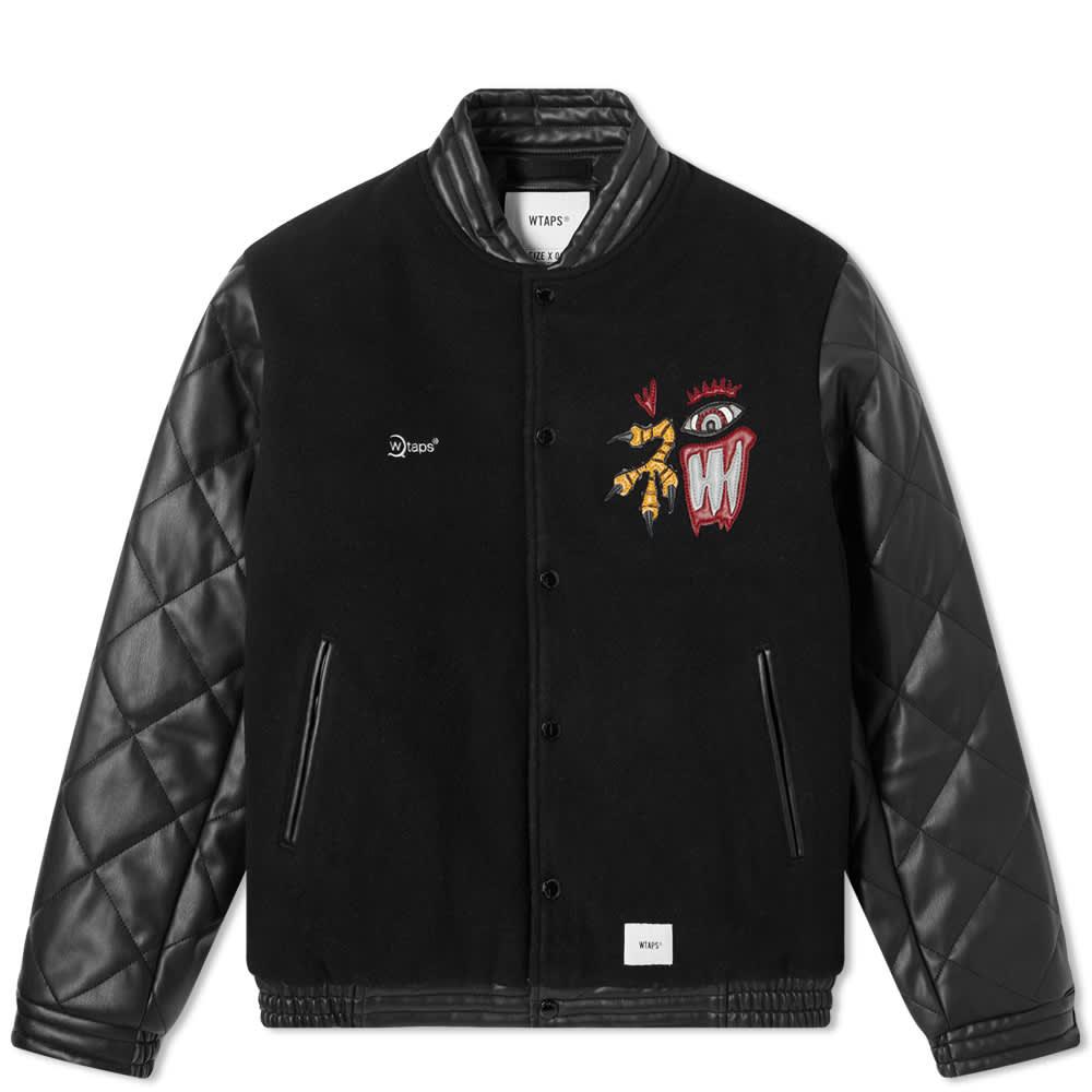 WTAPS Canal Varsity Jacket - Black