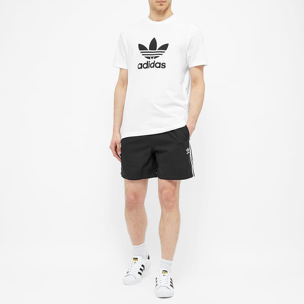 Adidas Trefoil Tee - White