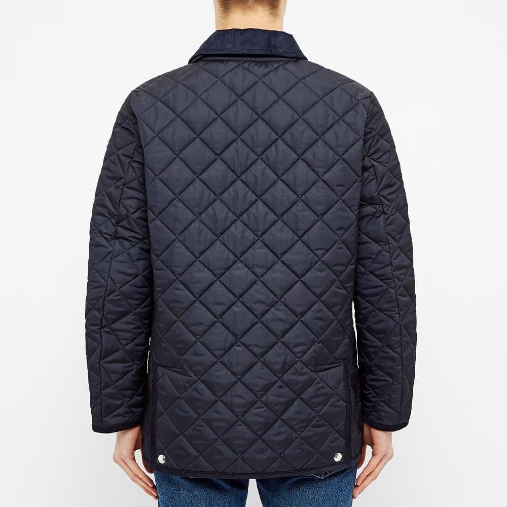 Mackintosh Waverly Nylon Quilt Jacket - Navy