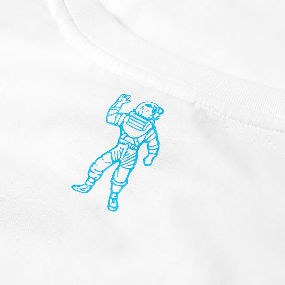 Billionaire Boys Club Small Arch Logo Highlight Tee - White & Blue