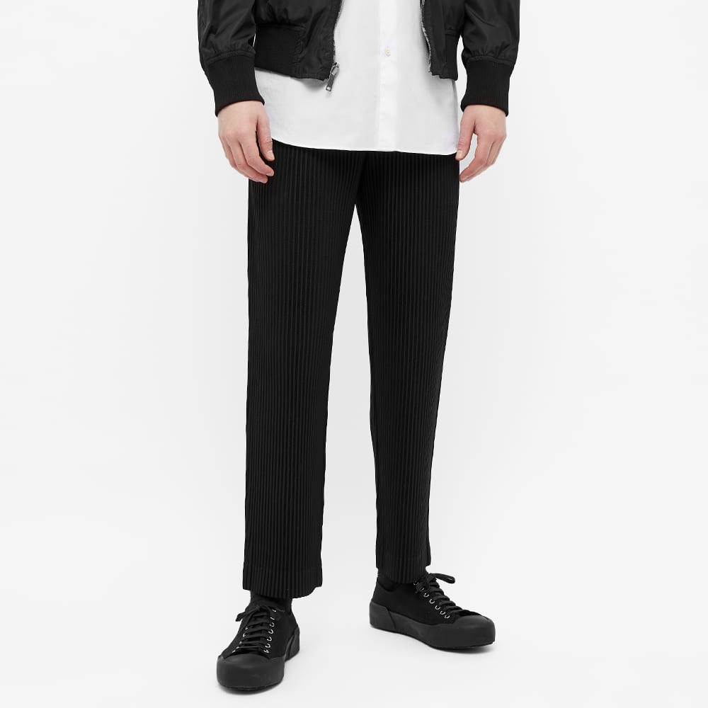Homme Plissé Issey Miyake JF150 Pleated Trouser - Black