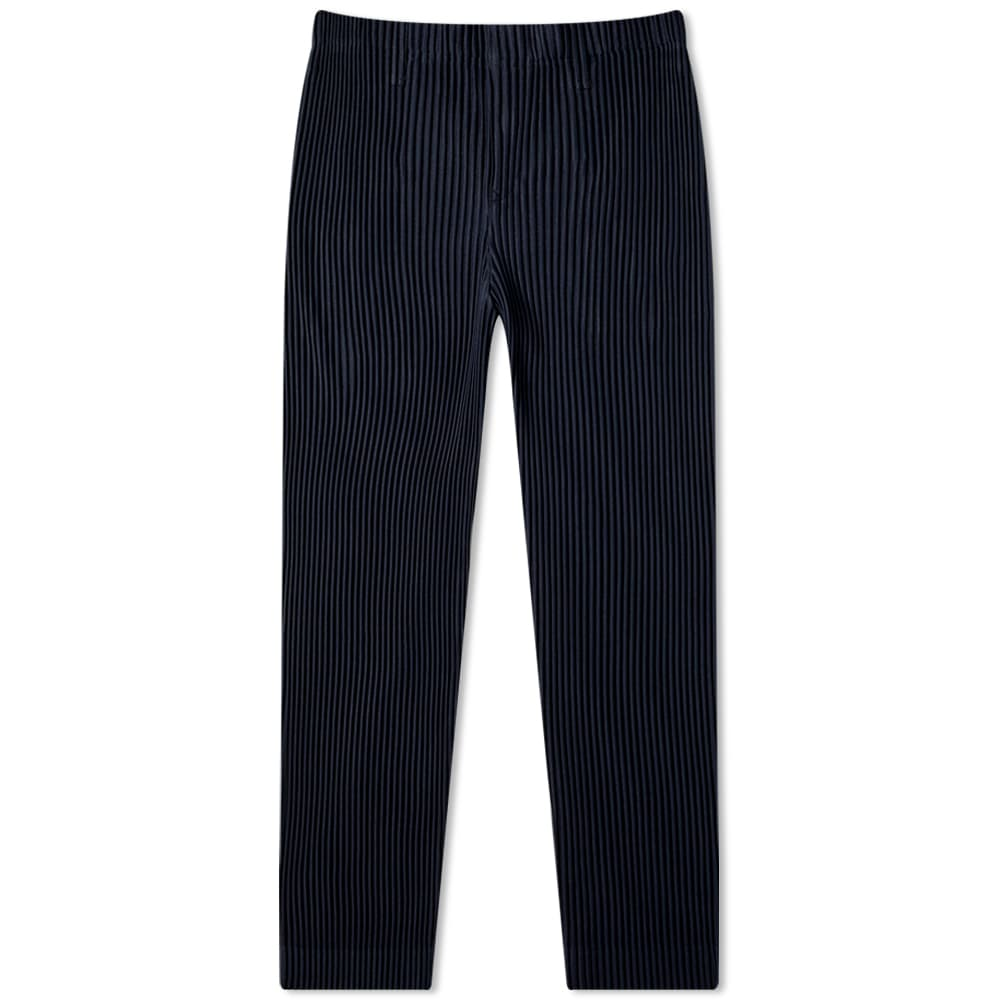 Homme Plissé Issey Miyake Jf150 Pleated Trouser - Navy & Deep Indigo Blue