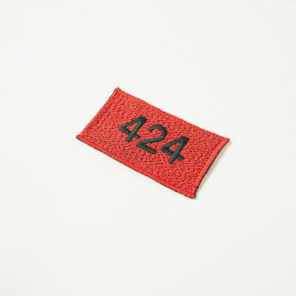 424 Box Logo Crew Sweat - Off White
