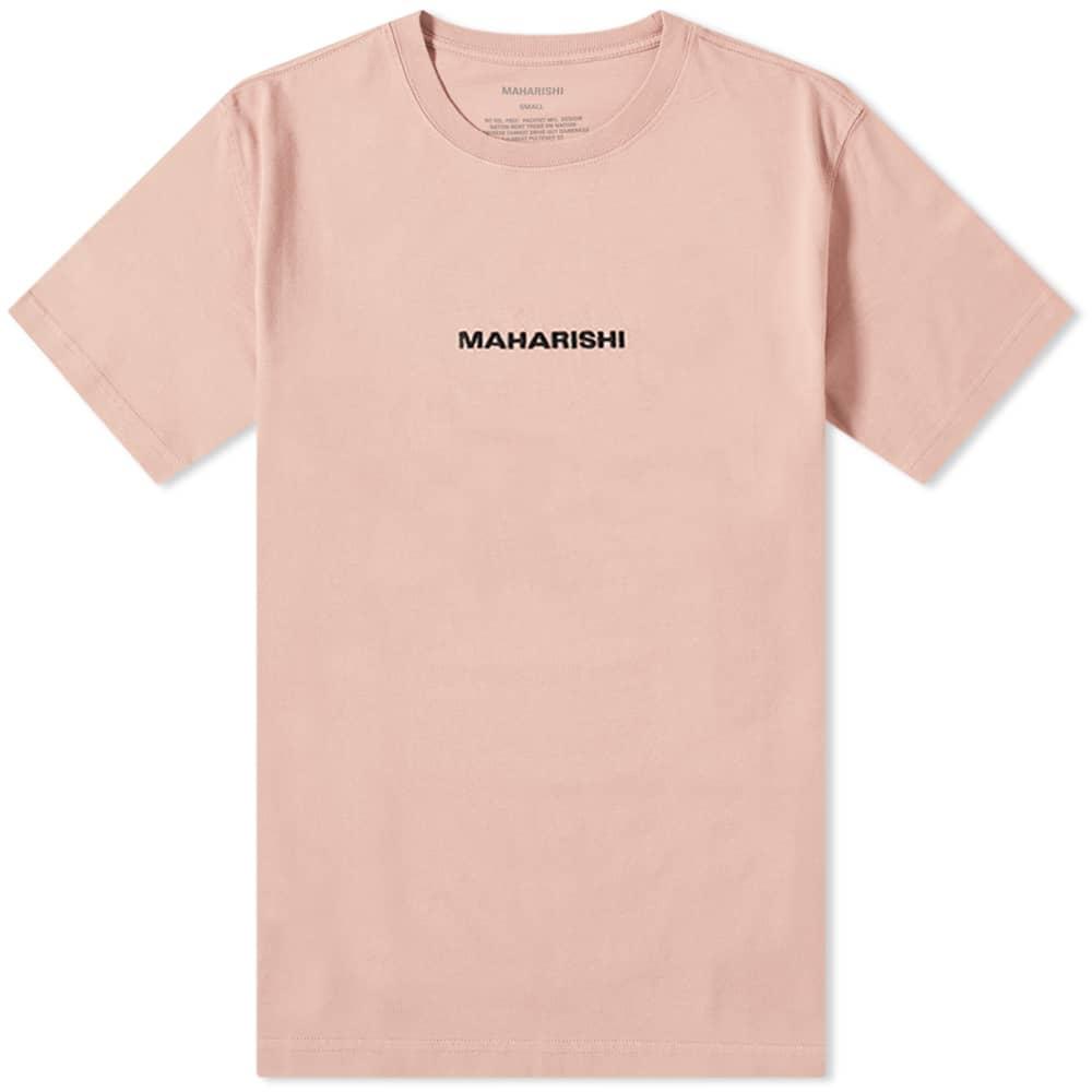 Maharishi Classic Logo Tee - Pink Panther