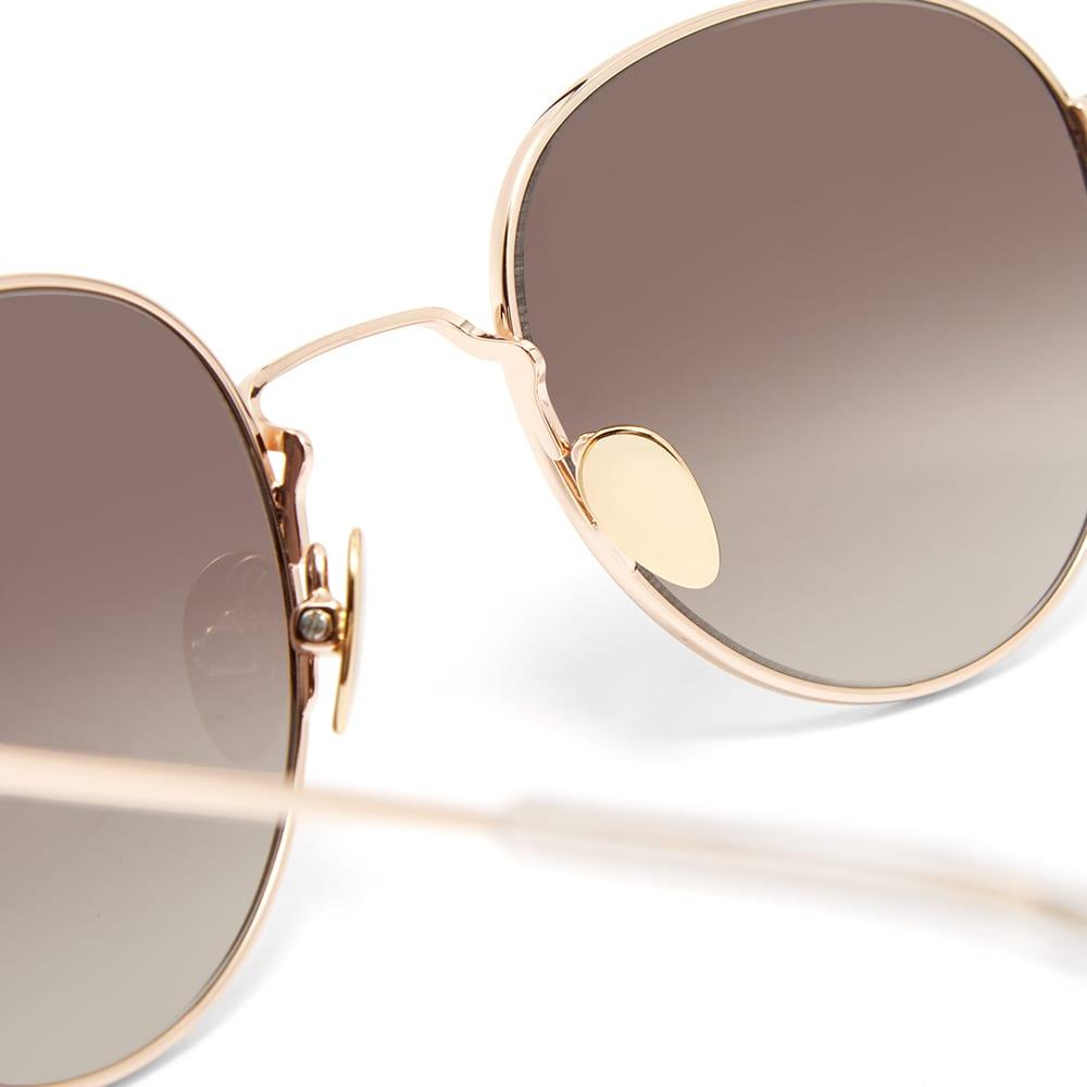 Monokel Rio Sunglasses - Gold & Grey Gradient