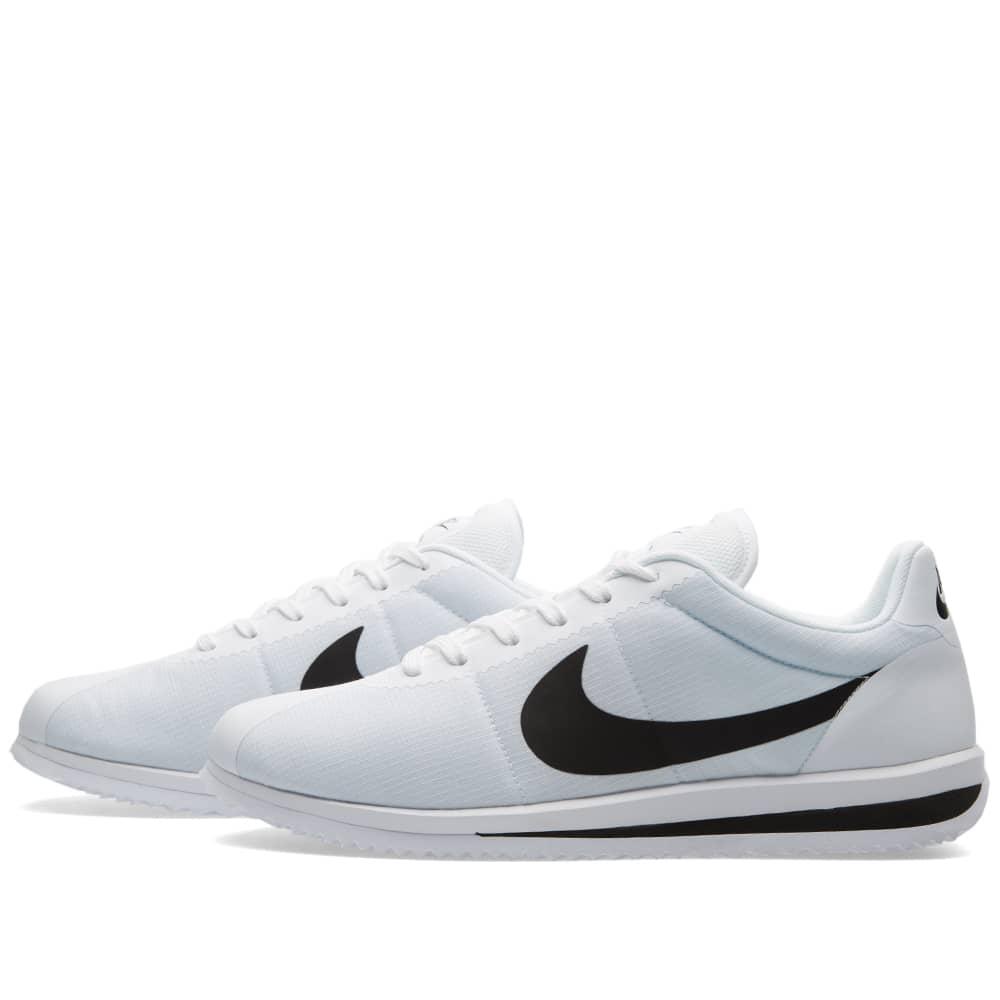 Nike Cortez Ultra White \u0026 Black | END.