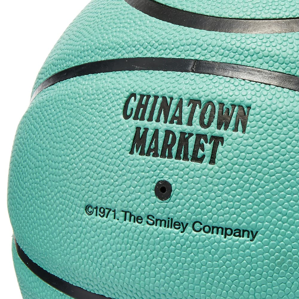 Chinatown Market Smiley Breakfast Basketball - Blue