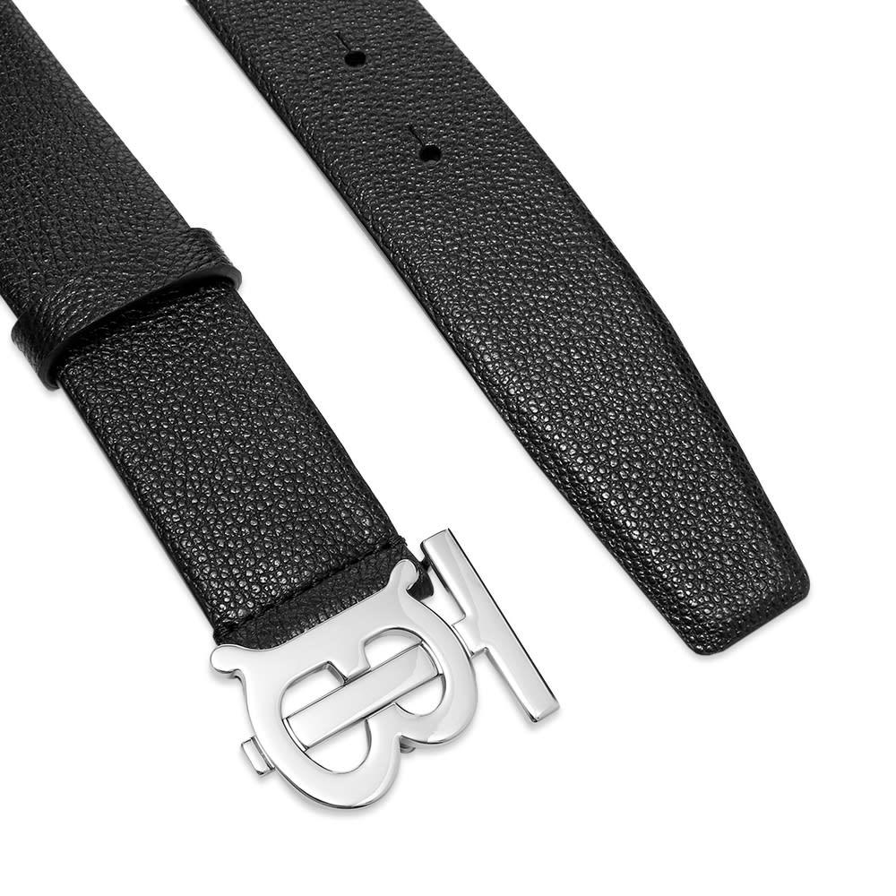 Burberry Logo Belt - Black