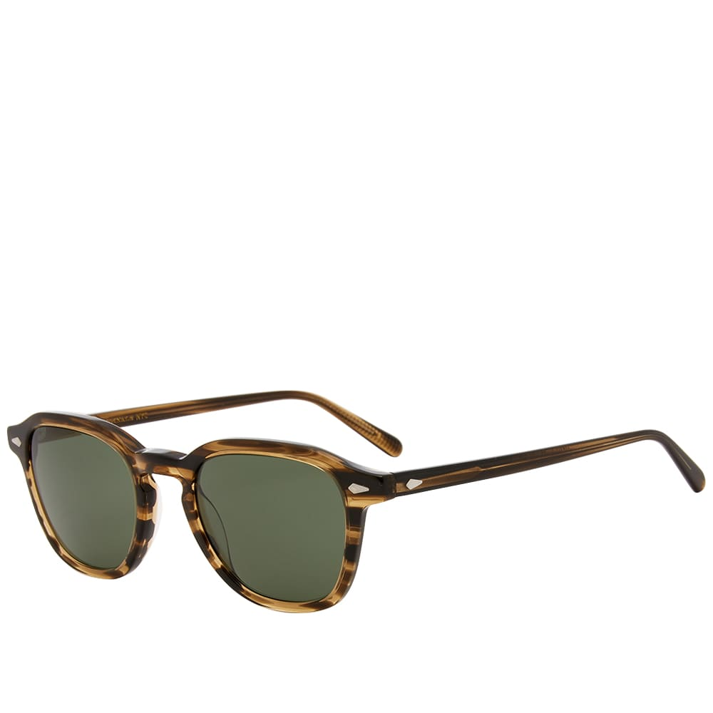 Moscot Vantz Sunglasses - Brown Bamboo