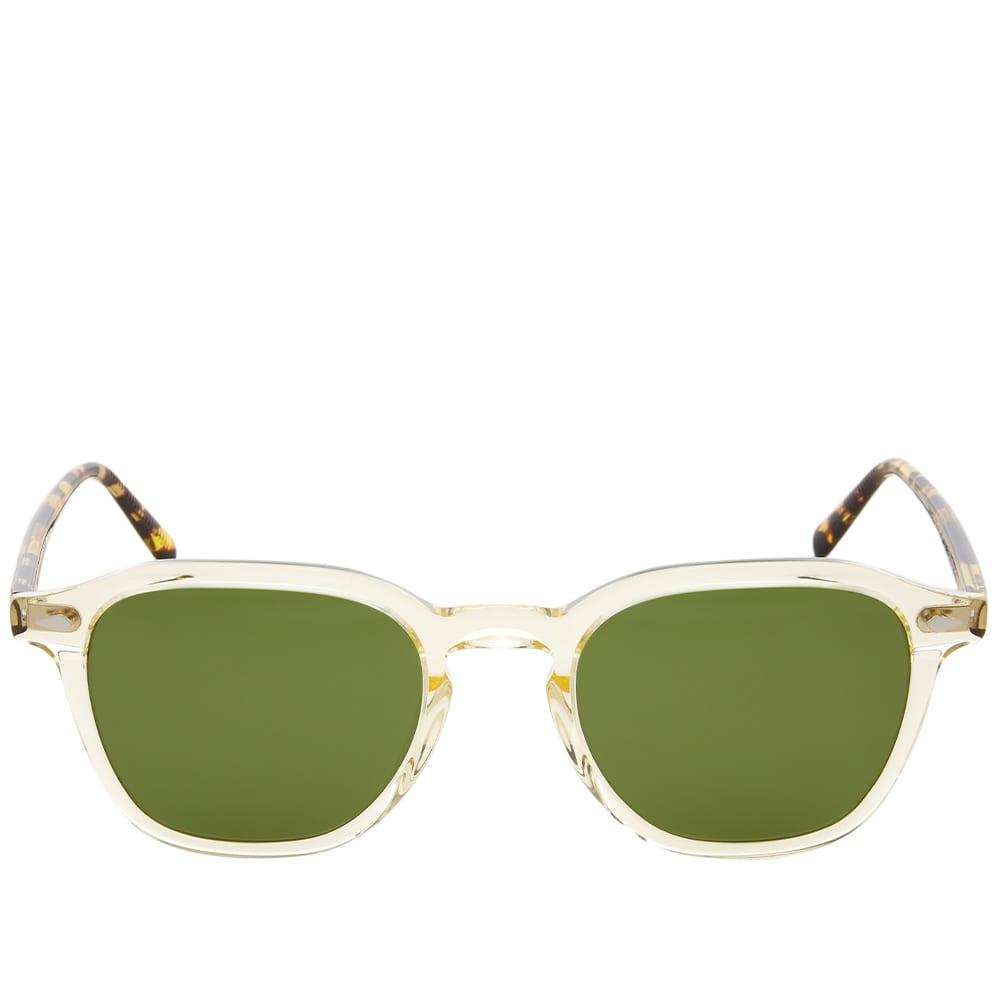 Moscot Vantz Sunglasses - Citron & Tortoise