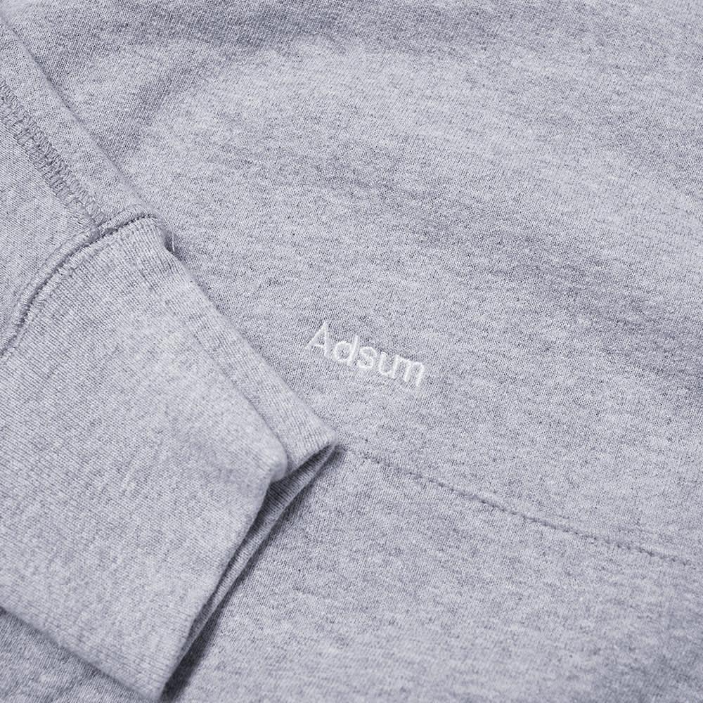 Adsum Classic Logo Hoody - Ash Heather