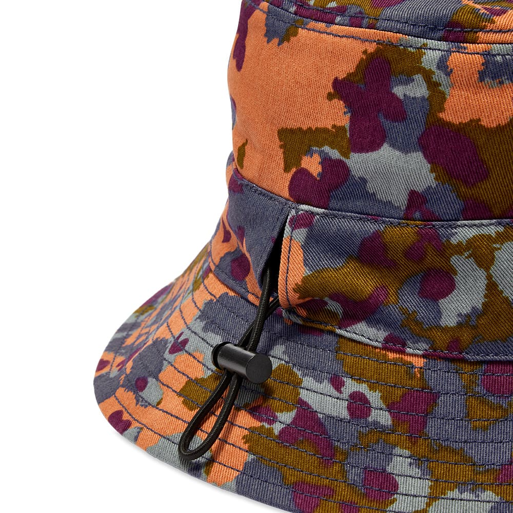 END. x Gramicci 'Kaleidoscope' Reversible Bucket Hat - Black & Navy Camo