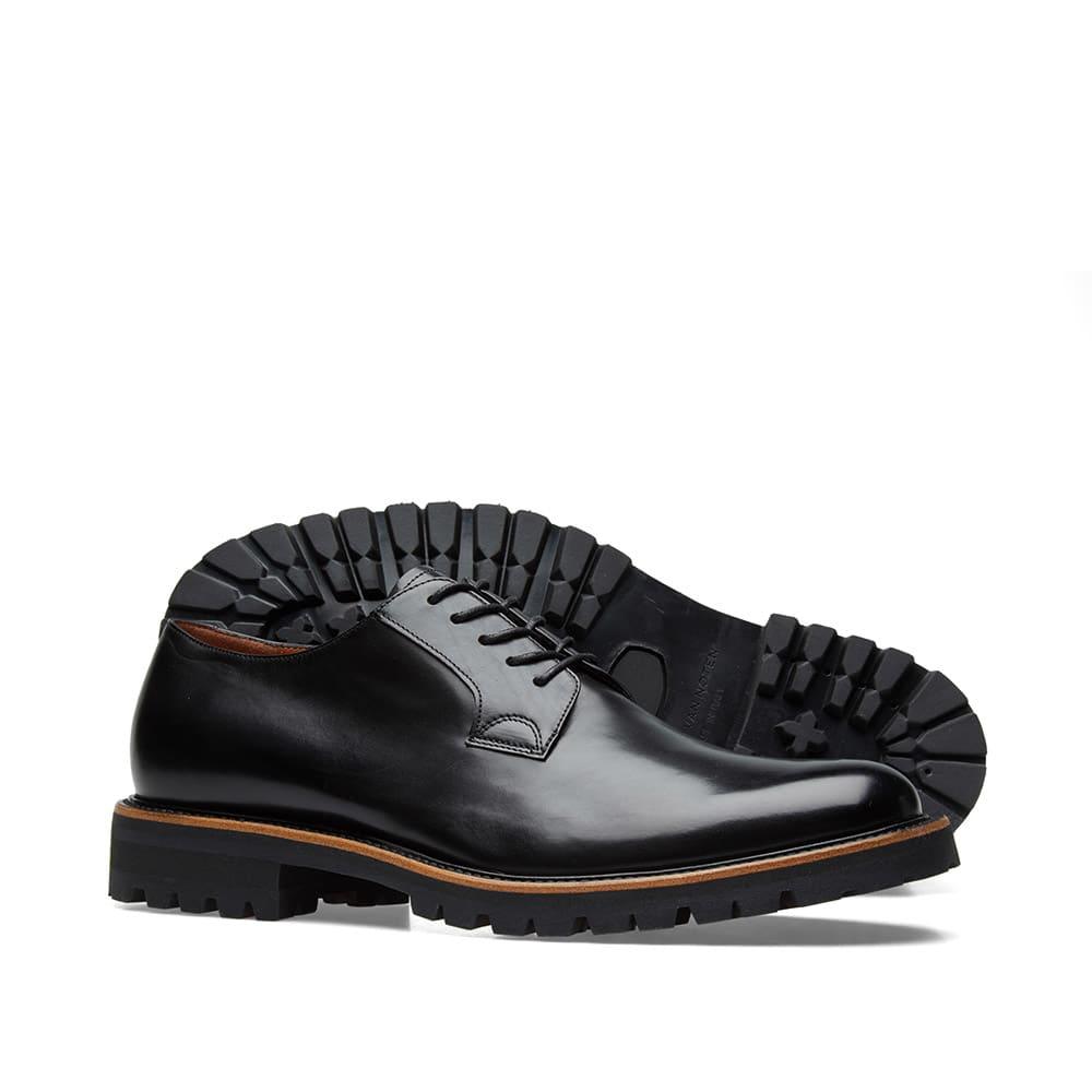 Dries Van Noten Commando Sole Derby Shoe - Black