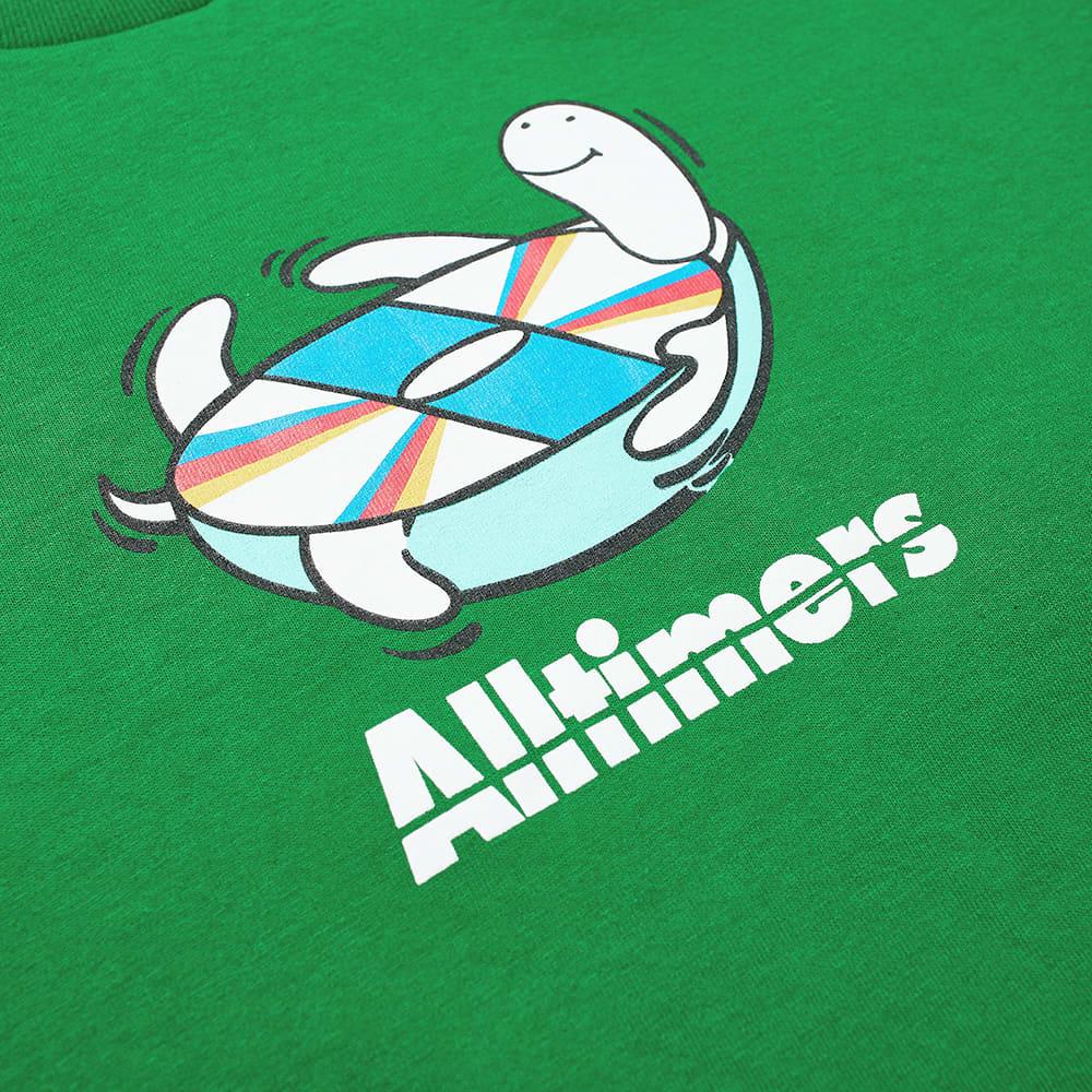 Alltimers Spin Tee - Kelly Green