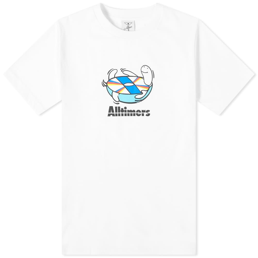 Alltimers Spin Tee - White