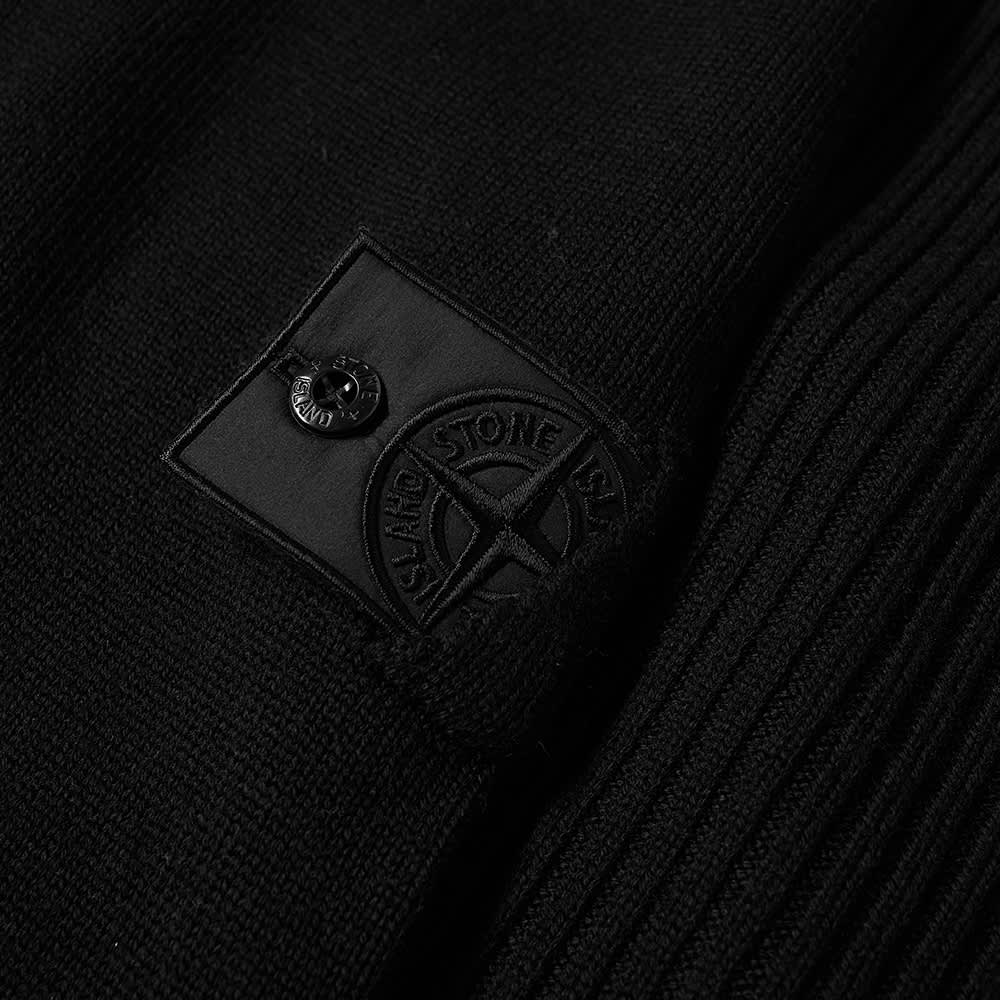 Stone Island Shadow Project Lana Wool Roll Neck Knit - Black