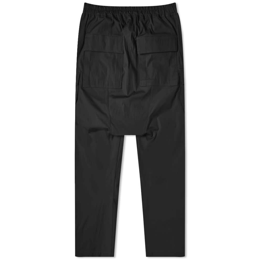 Rick Owens Long Cargo Pant - Black