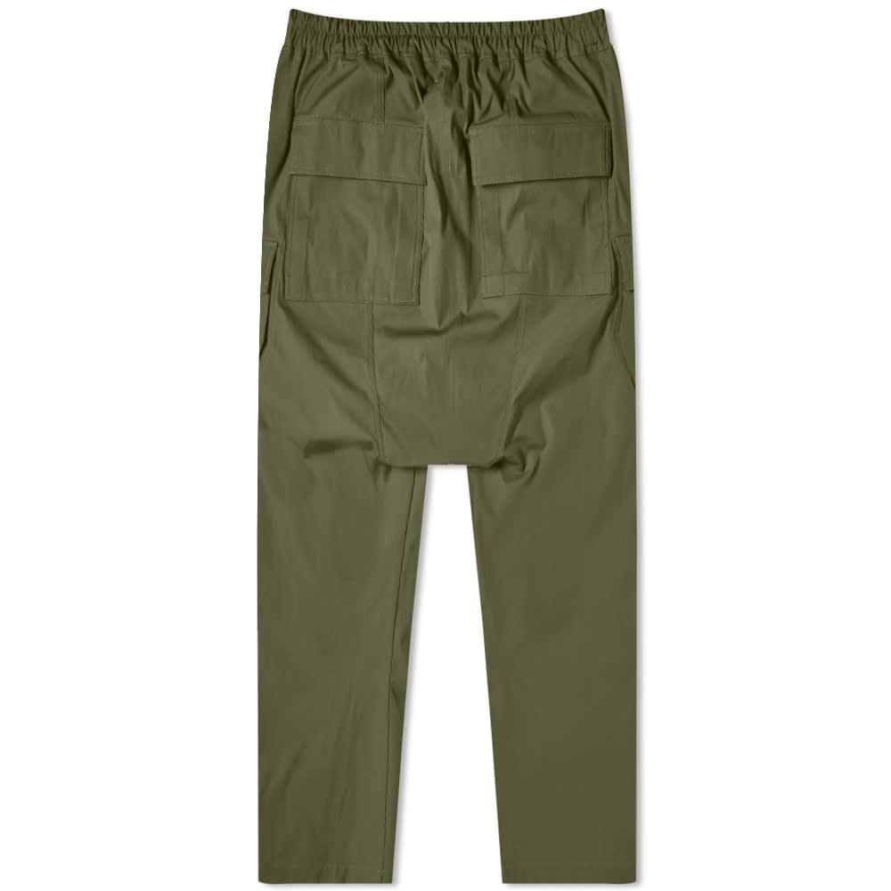 Rick Owens Long Cargo Pant - Green