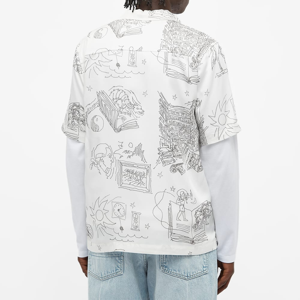 Soulland Orson Vacation Shirt - Off White
