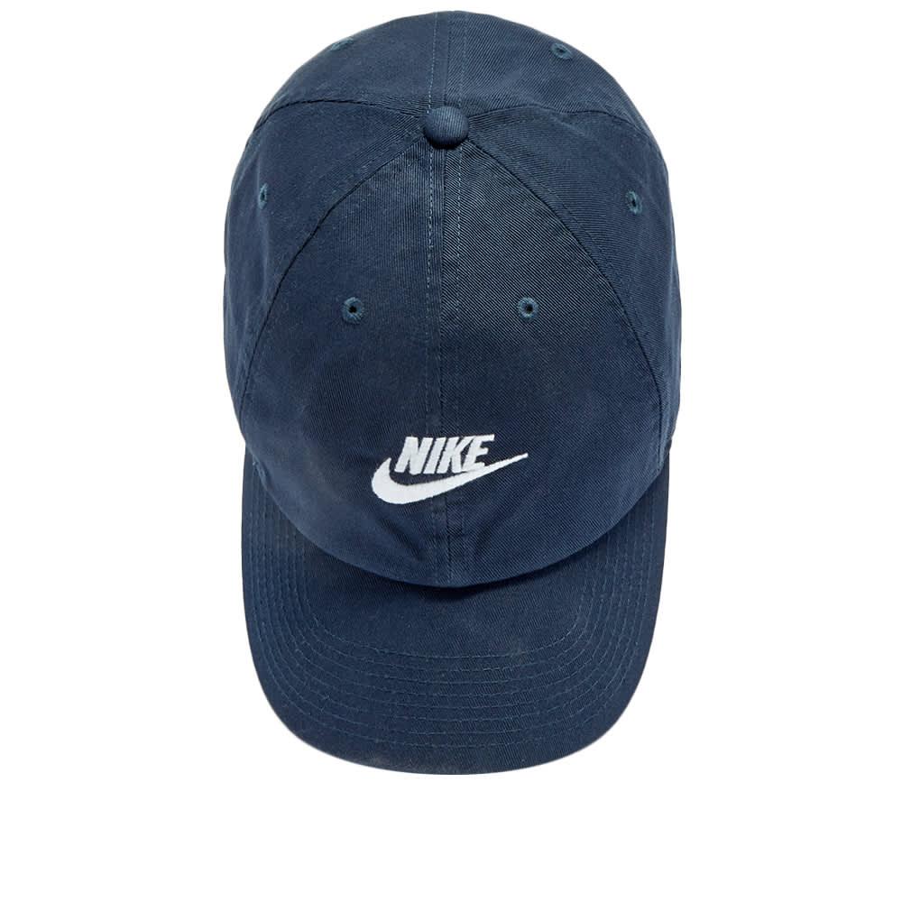 Nike Futura Washed H86 Cap - Obsidian & White