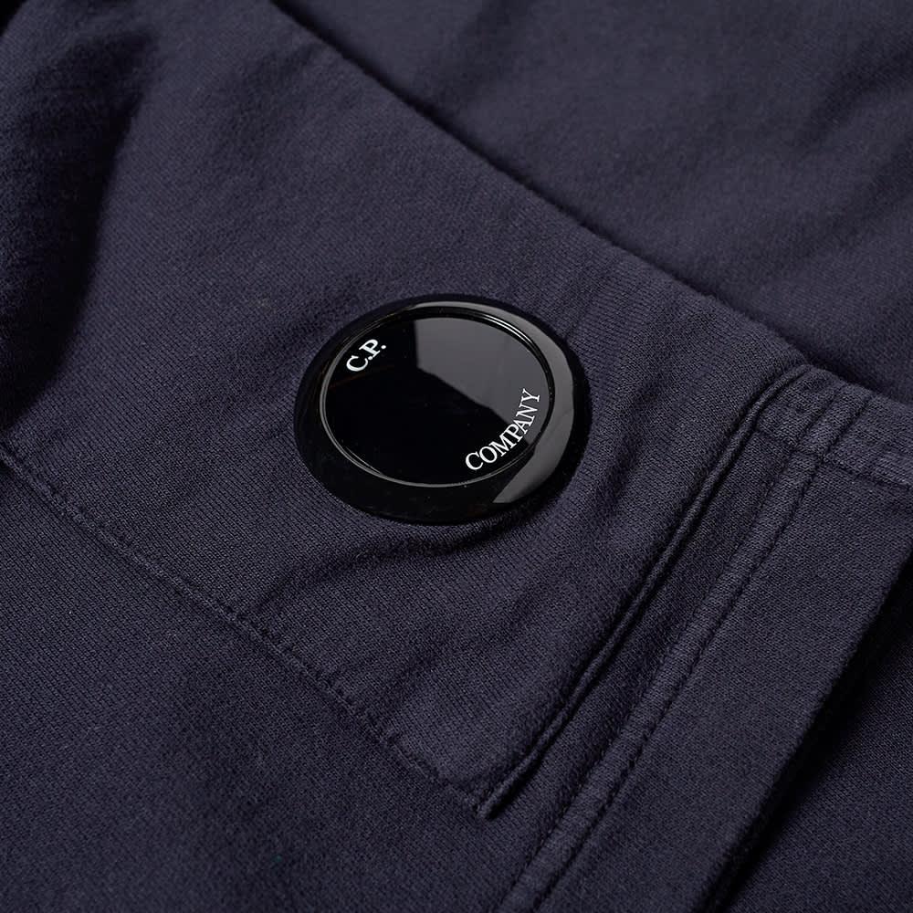 C.P. Company Lens Pocket Sweat Shorts - Total Eclipse
