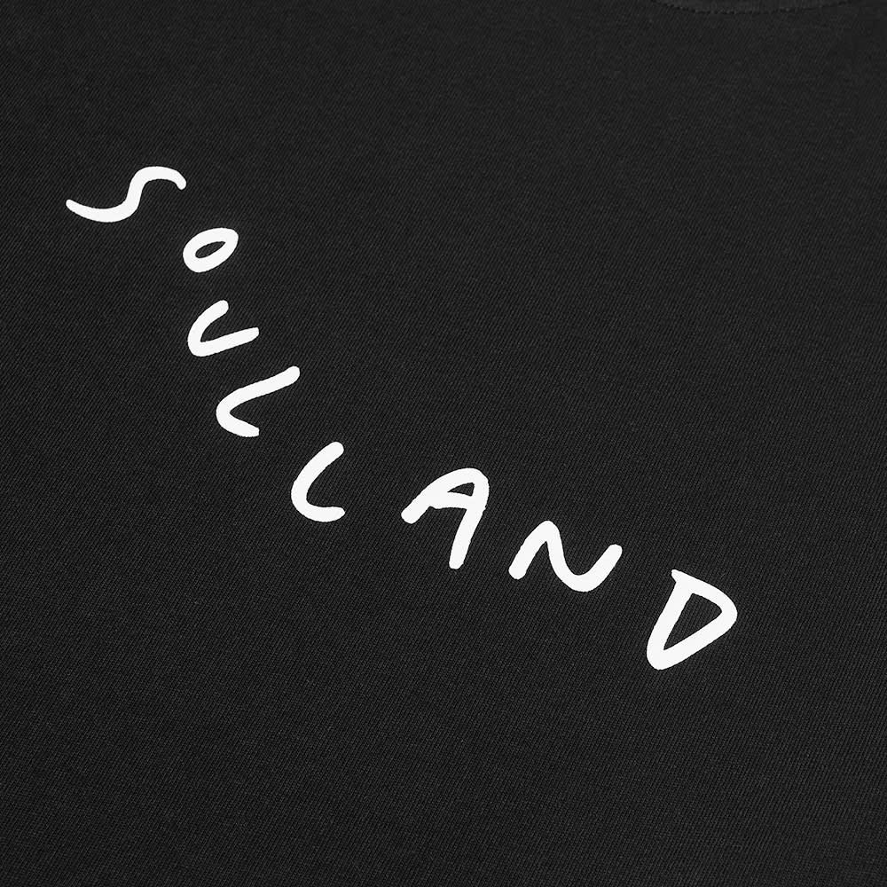 Soulland Marker Logo Tee - Black