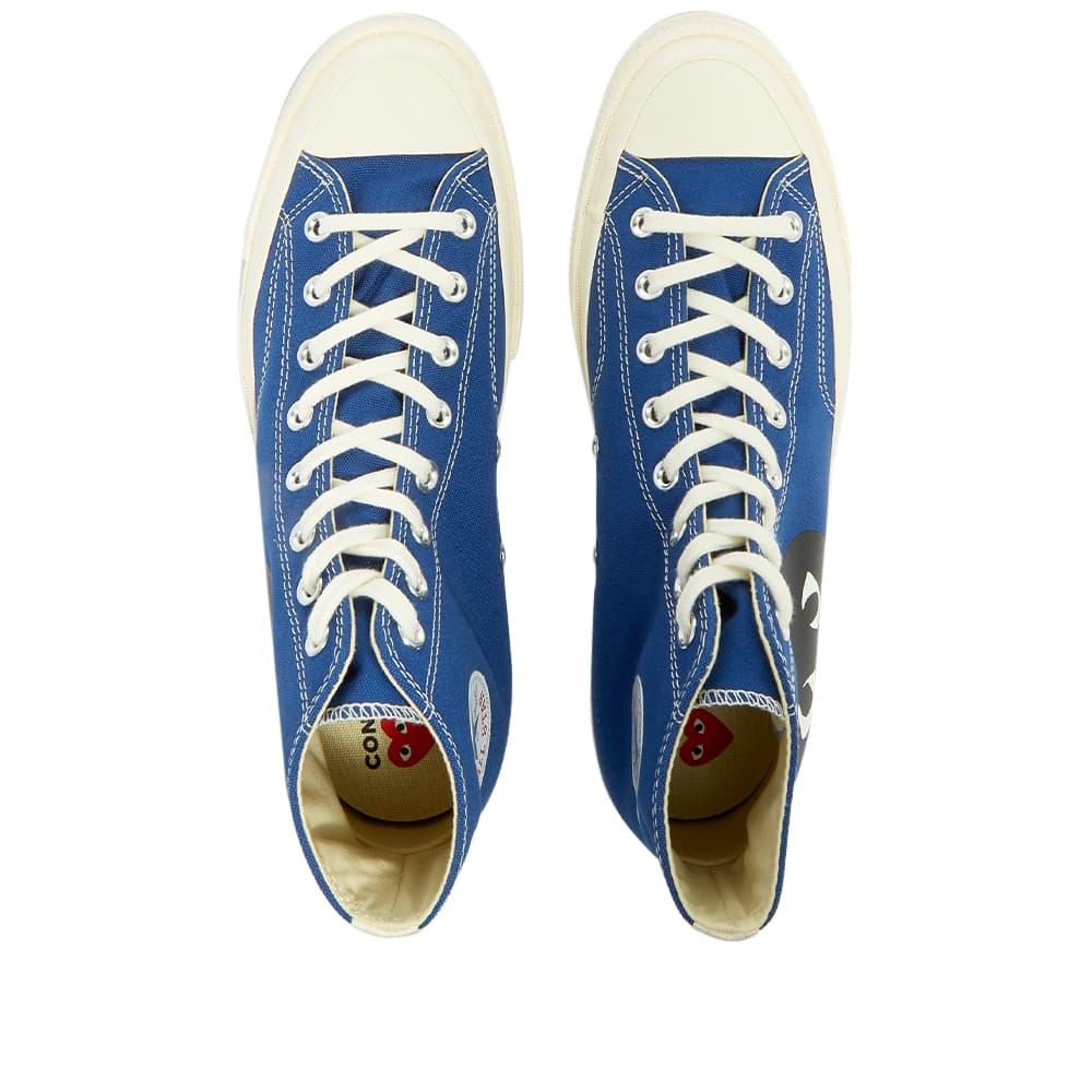 Comme des Garcons Play x Converse Chuck Taylor 1970s Hi - Blue