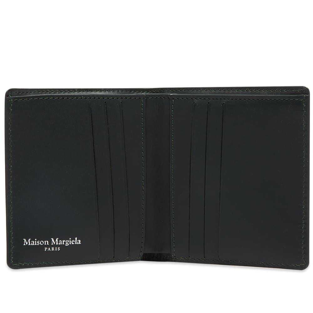 Maison Margiela Classic Billfold Zip Wallet - Forest