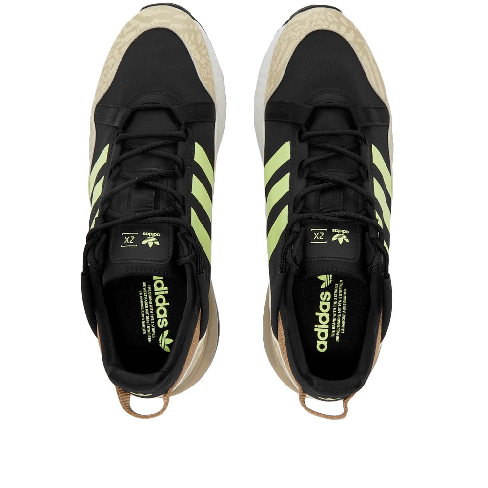 Adidas ZX 2K Boost Pure - Core Black & Savannah
