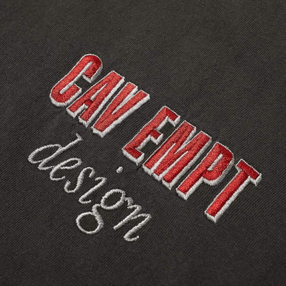 Cav Empt Small Logo Overdye Tee - Charcoal